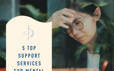 5 support services for treating mental illnesses